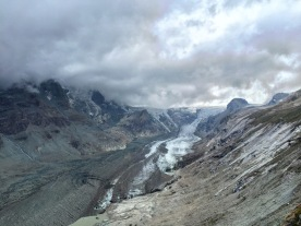 What's left of the glaciers around the Grossglockner, Austria's highest peak.