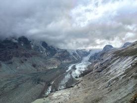 What's left of the glaciers around the Grossglockner, Austria's highest peak.