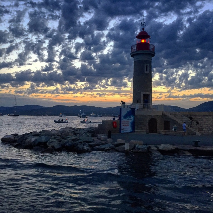St. Tropez lighthouse.