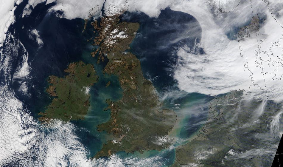 How will the Arctic meltdown affect weather in the British Isles?