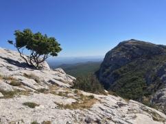 Massif de la Sainte-Baume.