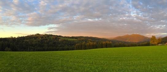 Pano from Gomde.