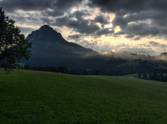Tauplitz sunrise.