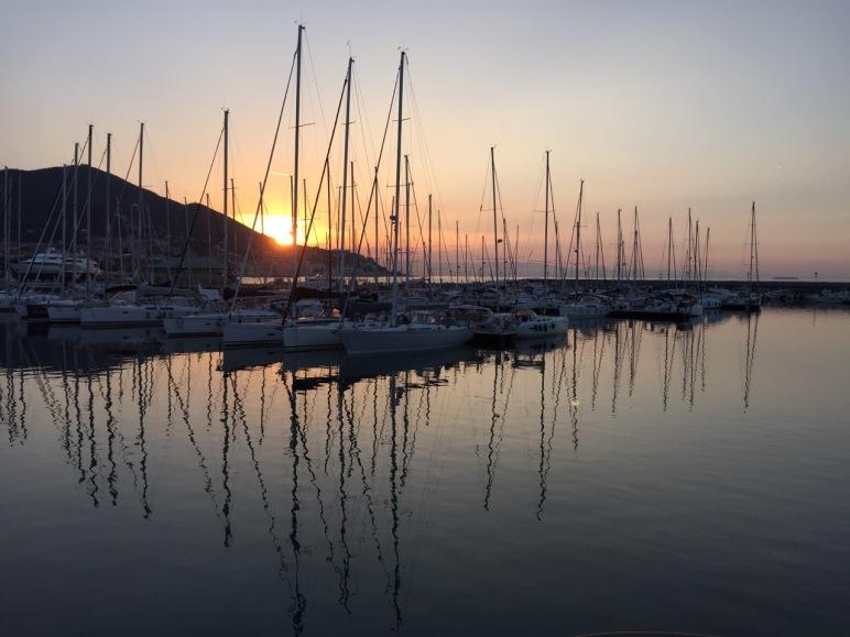 Sunrise, Varazze.
